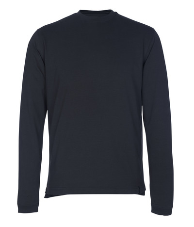 MASCOT® Albi - Schwarzblau - T-Shirt, Langarm, moderne Passform