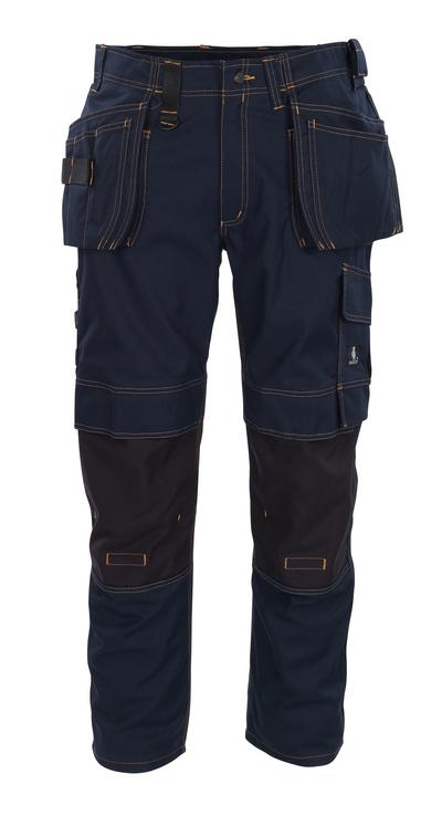 MASCOT® Almada - Schwarzblau - Hose mit CORDURA®-Knietaschen und Hängetaschen, hohe Strapazierfähigkeit