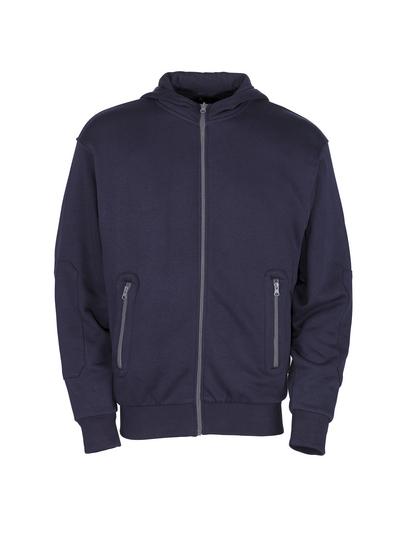MASCOT® Altea - Marine - Kapuzensweatshirt mit Reißverschluss, moderne Passform