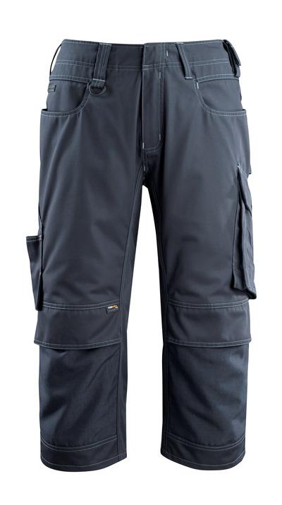 MASCOT® Altona - Schwarzblau - Dreiviertel-Hose mit CORDURA® Knietaschen, geringes Gewicht