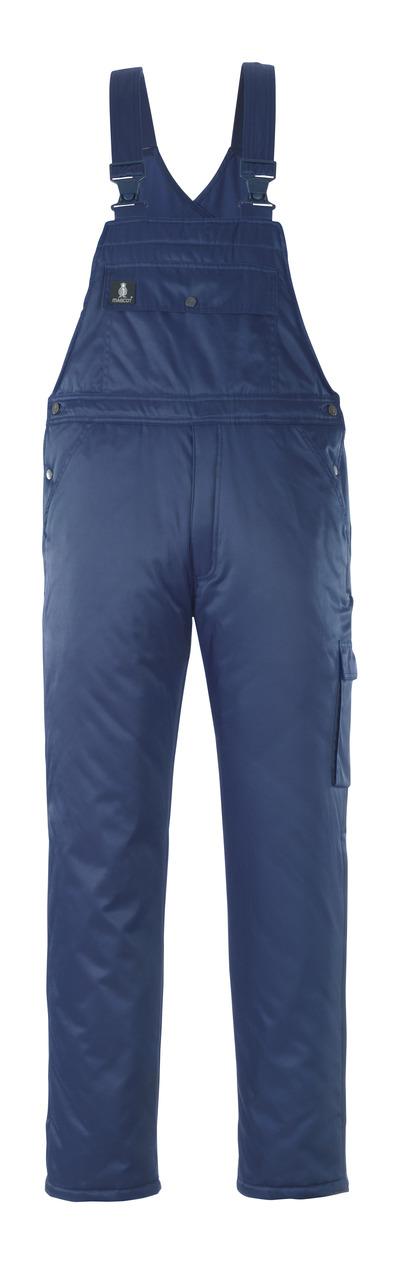 MASCOT® Antarktis - Marine - Winterlatzhose mit Steppfutter, wasserabweisendes Bearnylon®