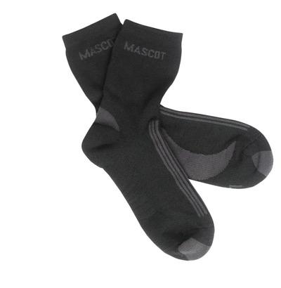 MASCOT® Asmara - Schwarz/Dunkelanthrazit - Socken, feuchtigkeitstransportierend