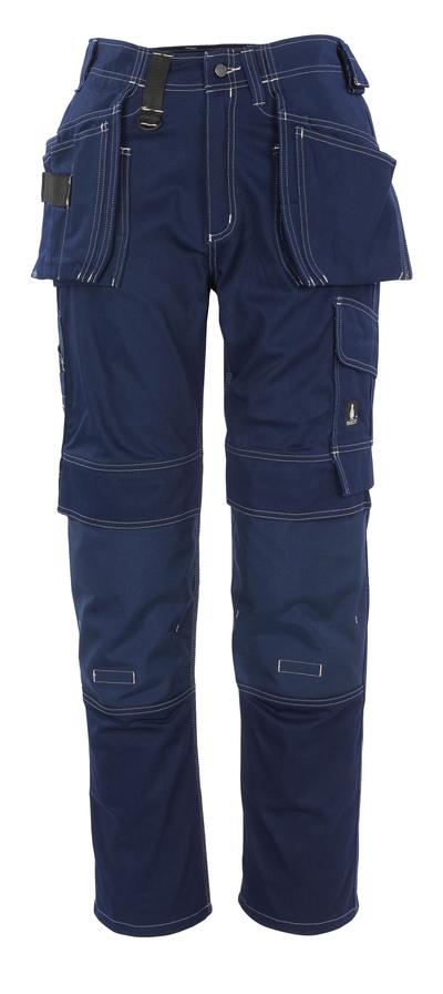 MASCOT® Atlanta - Marine - Hose mit CORDURA® Knie- und Hängetaschen, Baumwolle