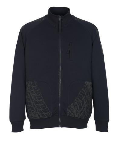 MASCOT® Belfort - Schwarzblau* - Sweatshirt mit Reißverschluss