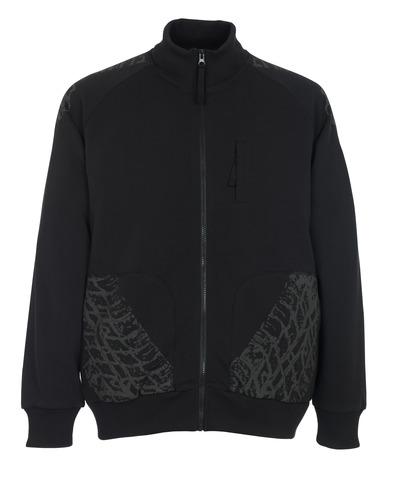 MASCOT® Belfort - Schwarz* - Sweatshirt mit Reißverschluss
