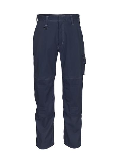 MASCOT® Biloxi - Schwarzblau - Hose mit Knietaschen, Baumwolle