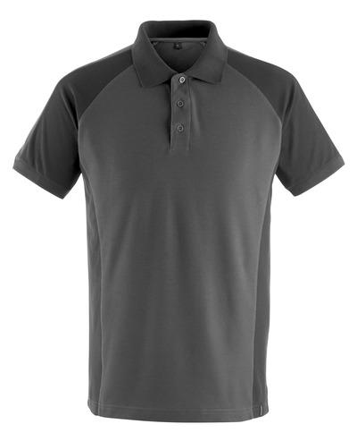 MASCOT® Bottrop - Dunkelanthrazit/Schwarz - Polo-Shirt, moderne Passform