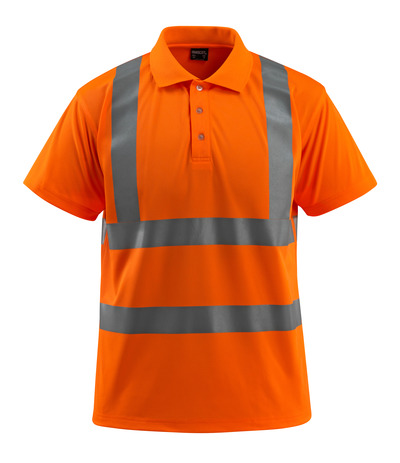 MASCOT® Bowen - hi-vis Orange - Polo-Shirt, großzügige Passform, Klasse 2