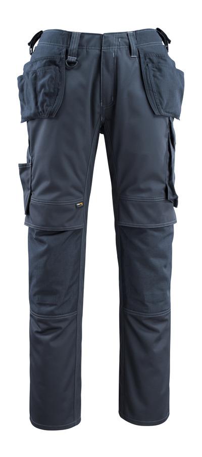 MASCOT® Bremen - Schwarzblau - Hose mit CORDURA® Knie- und Hängetaschen, hohe Strapazierfähigkeit