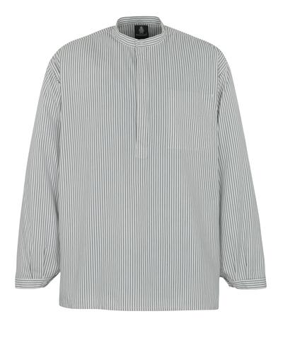 MASCOT® Buffalo - Weiß/Marine - Maurerhemd