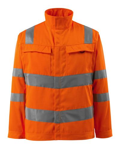 MASCOT® Bunbury - hi-vis Orange - Jacke, hohe Strapazierfähigkeit, einfarbig, Klasse 3
