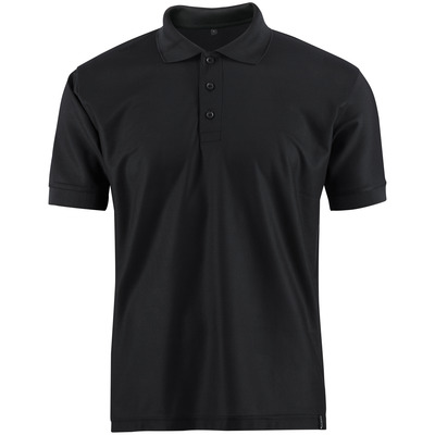 MASCOT® CROSSOVER - Schwarz - Polo-Shirt, feuchtigkeitstransportierendes CoolDry, moderne Passform