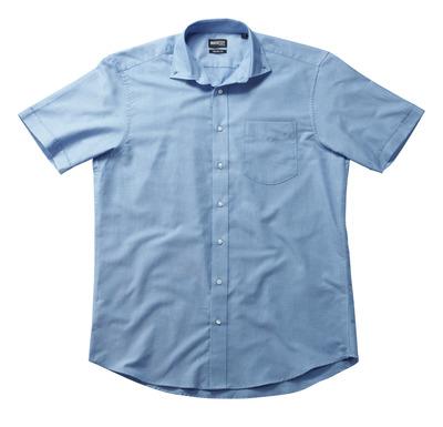 MASCOT® CROSSOVER - Hellblau - Hemd