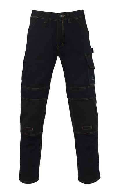 MASCOT® Calvos - Schwarz - Hose mit CORDURA® Knietaschen, hohe Strapazierfähigkeit