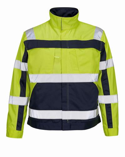 MASCOT® Cameta - hi-vis Gelb/Marine - Jacke, hohe Strapazierfähigkeit, Klasse 2