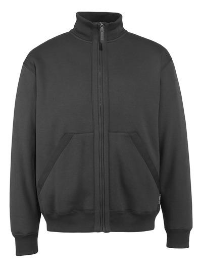 MASCOT® Cannes - Schwarz* - Sweatshirt mit Reißverschluss