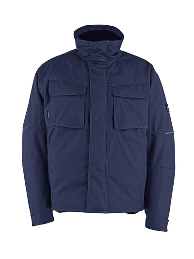 MASCOT® Columbus - Schwarzblau - Winterjacke mit Steppfutter, wasserabweisend