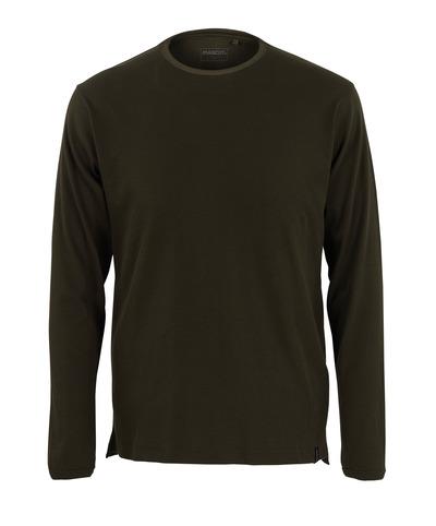 MASCOT® Crato - Dunkeloliv* - T-Shirt, Langarm