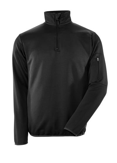 MASCOT® Estela - Schwarz/Dunkelanthrazit - Polo-Sweatshirt