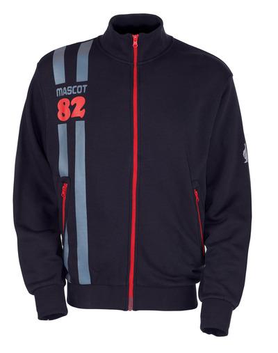 MASCOT® Fundao - Schwarzblau* - Sweatshirt mit Reißverschluss