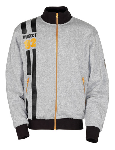 MASCOT® Fundao - Grau-meliert* - Sweatshirt mit Reißverschluss