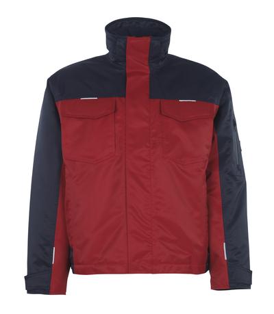 MASCOT® Genova - Rot/Marine* - Winterjacke mit Steppfutter, wasserdichtes MASCOTEX®