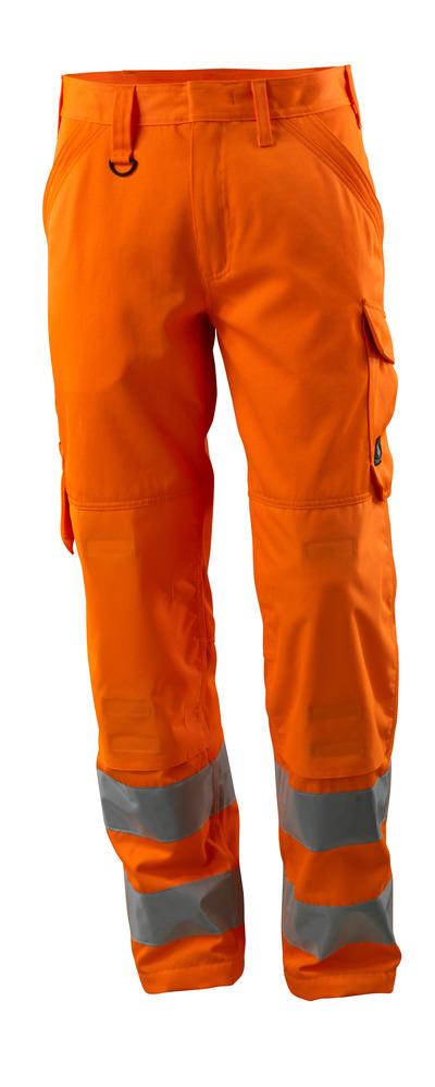 MASCOT® Geraldton - hi-vis Orange - Hose mit Knietaschen, einfarbig, Klasse 2