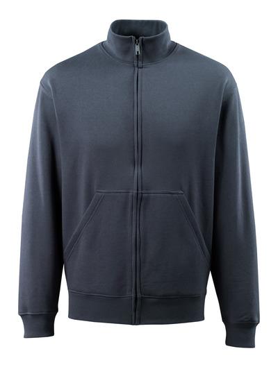 MASCOT® Lavit - Schwarzblau - Sweatshirt mit Reißverschluss, moderne Passform