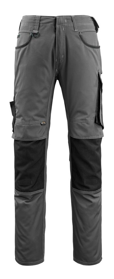 MASCOT® Lemberg - Dunkelanthrazit/Schwarz - Hose mit CORDURA® Knietaschen, extra geringes Gewicht