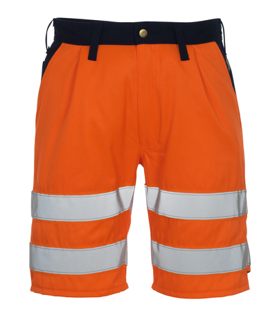 MASCOT® Lido - hi-vis Orange/Marine* - Shorts, Klasse 1/2