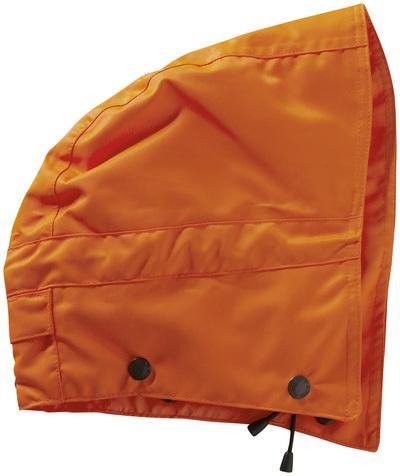 MASCOT® MacCall - hi-vis Orange - Kapuze mit Druckknöpfen und Futter, wasserdicht