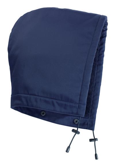 MASCOT® MacKenzie - Marine - Kapuze mit Druckknöpfen und Futter, wasserabweisend