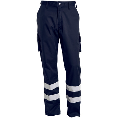 MACMICHAEL® MacMichael - Schwarzblau - Hose mit Schenkeltaschen, Reflexstreifen, geringes Gewicht