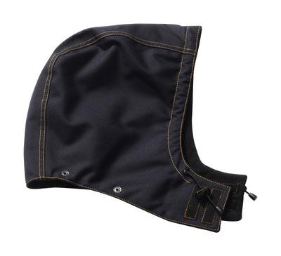 MASCOT® MacNeal - Schwarzblau - Kapuze mit Druckknöpfen und Futter, wasserdicht