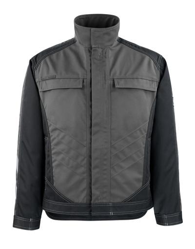 MASCOT® Mainz - Dunkelanthrazit/Schwarz - Jacke, hohe Strapazierfähigkeit