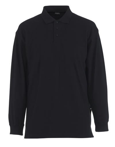 MASCOT® Manila - Graphitblau - Polo-Shirt, moderne Passform, Langarm