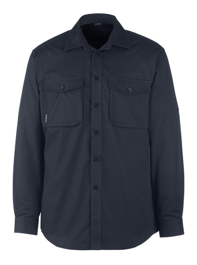 MASCOT® Mesa - Schwarzblau - Hemd
