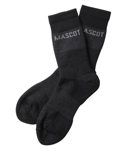 MASCOT® Moshi - Dunkelanthrazit meliert - Socken, feuchtigkeitstransportierend