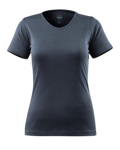MASCOT® Nice - Schwarzblau - T-Shirt, Damenmodell, V-Ausschnitt