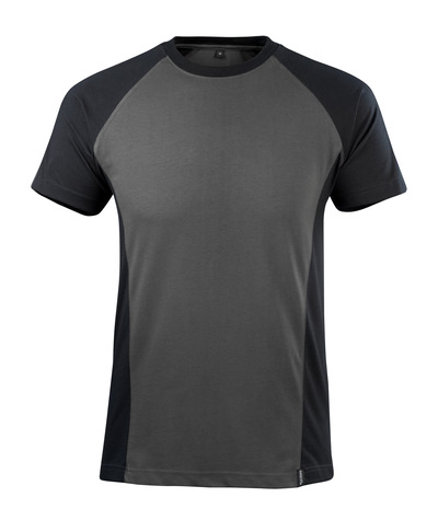 MASCOT® Potsdam - Dunkelanthrazit/Schwarz - T-Shirt, moderne Passform