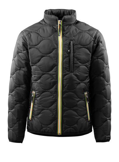 MASCOT® Rota - Schwarz - Jacke mit Futter und hohem Kragen