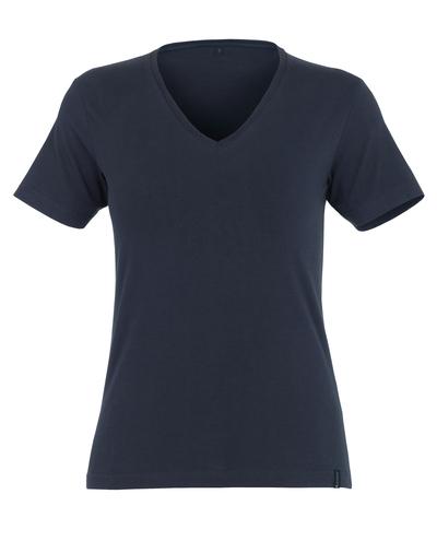 MASCOT® Skyros - Schwarzblau* - T-Shirt, Damenmodell, V-Ausschnitt