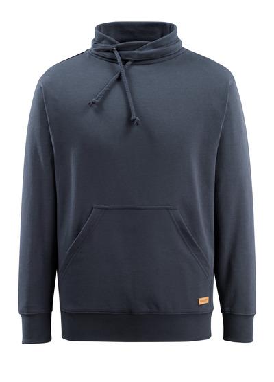 MASCOT® Soho - Schwarzblau - Sweatshirt mit hohem Kragen, moderne Passform