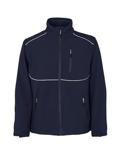 MASCOT® Tampa - Schwarzblau - Soft Shell Jacke mit Fleece innen, wasserabweisend