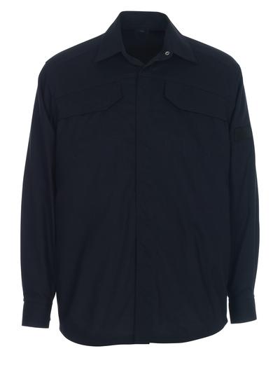 MASCOT® Ternitz - Schwarzblau - Hemd, Multischutz, moderne Passform
