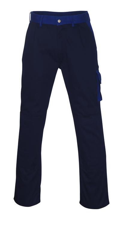 MASCOT® Torino - Marine/Kornblau - Hose mit Knietaschen, hohe Strapazierfähigkeit