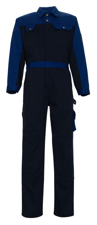 MASCOT® Verona - Marine/Kornblau - Overall mit Knietaschen, hohe Strapazierfähigkeit