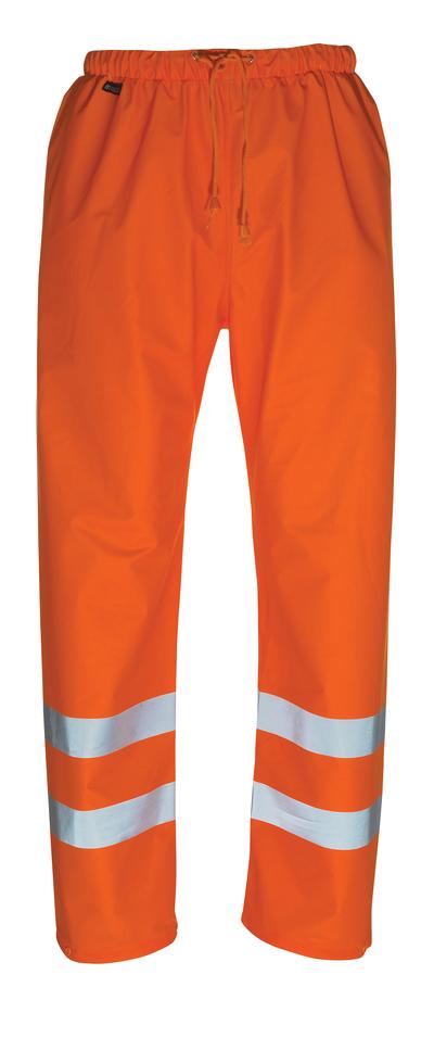 MASCOT® Wolfsberg - hi-vis Orange - Regenhose, wind- und wasserdicht, Klasse 1